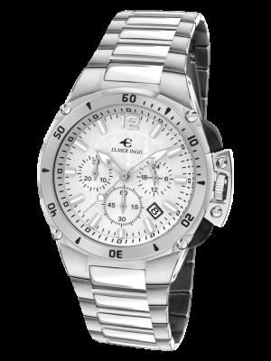 Elmer Ingo | Sporty Chronograph White (Gents)