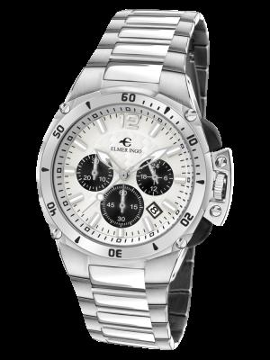 Elmer Ingo | Sporty Chronograph White & Black (Gents)