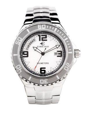 Elmer Ingo | Sporty Chronograph SD White (Gents)