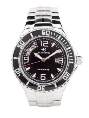 Elmer Ingo   Sporty Chronograph SD Black (Gents)