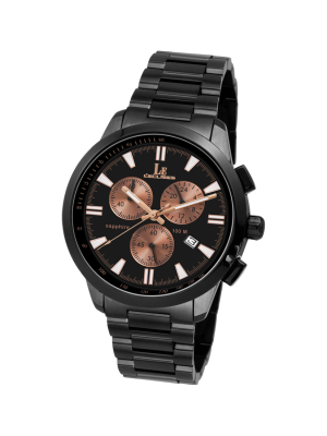 L'eclises | CHRONOGRAPH Gun & Brown 39mm (Gents)