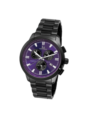 L'eclises | CHRONOGRAPH Gun & Purple (Ladies)