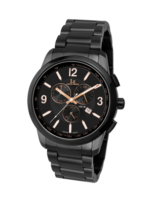 L'eclises | CHRONOGRAPH Gun B & Brown 42mm (Gents)