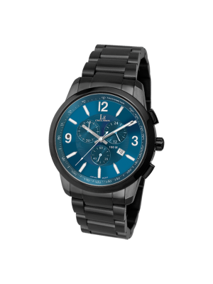 L'eclises | CHRONOGRAPH Gun B & Blue (Ladies)