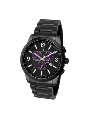L'eclises | CHRONOGRAPH Gun B & Purple (Ladies)