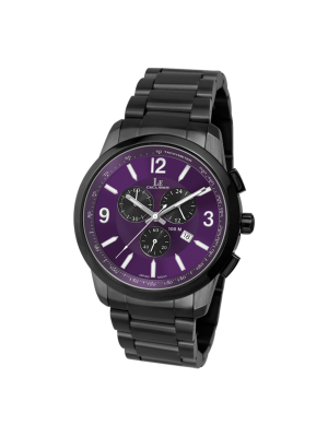 L'eclises | CHRONOGRAPH Gun B & Purple D (Ladies)