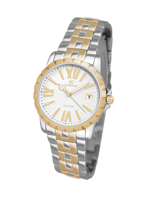 Elmer Ingo   Meccanica Classic White & Gold (Ladies)