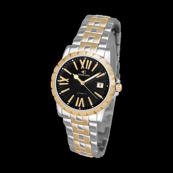Elmer Ingo   Meccanica Classic Black & Gold (Ladies)