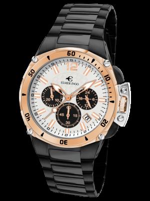 Elmer Ingo | Sporty Chronograph White & Black B (Gents)