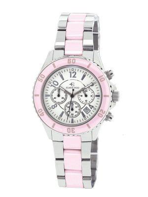 Elmer Ingo | Semi Ceramics Chronograph XS BW Pink (Ladies)