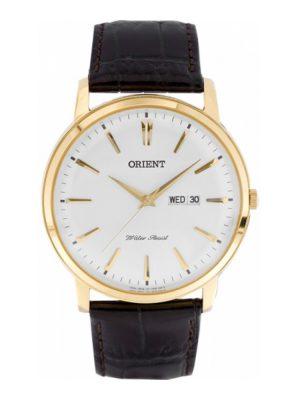 Orient | Quartz Classic Watch UG1R001W, Leather Strap - 40.5mm (Gents)