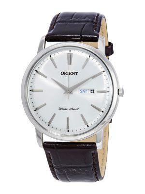 Orient | Quartz Classic Watch UG1R003W, Leather Strap - 40.5mm (Gents)