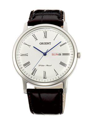 Orient | Quartz Classic Watch UG1R009W, Leather Strap - 40.5mm (Gents)