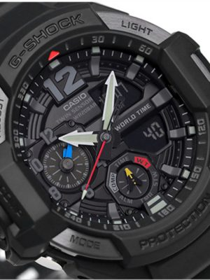 G-Shock | Gravitymaster Pointer dual display Digital Watch GA-1100-1A1DR