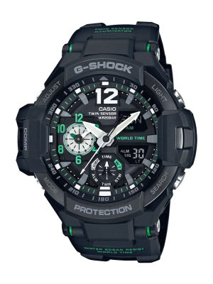 G-Shock | Gravitymaster Pointer dual display Digital Watch GA-1100-1A3DR