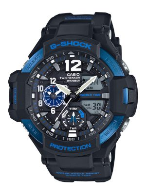 G-Shock | Gravitymaster Pointer dual display Digital Watch GA-1100-2BDR