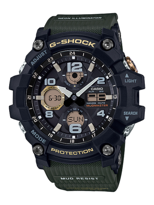 G-Shock | Mudmaster Pointer dual display Digital Watch GSG-100-1A3DR