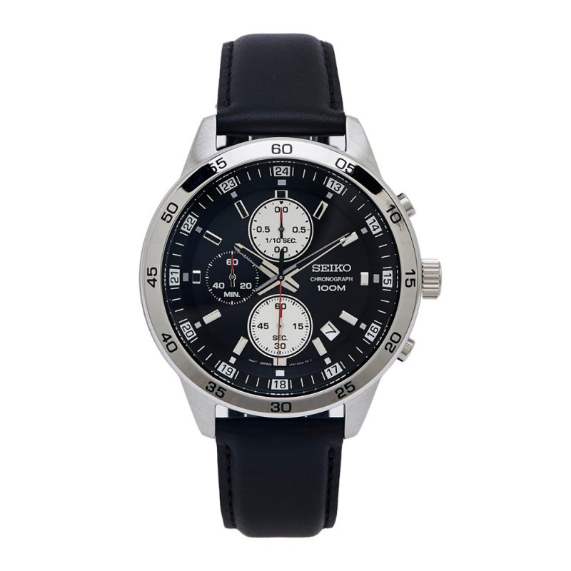 Seiko | Chronograph Black L (Gents)