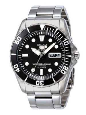 Seiko | Seiko 5 Sports Balck (Gents)