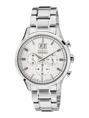 Seiko | Chronograph Silver (Gents)