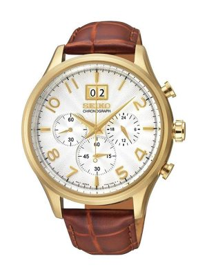 Seiko | Chronograph Silver & Gold (Gents)