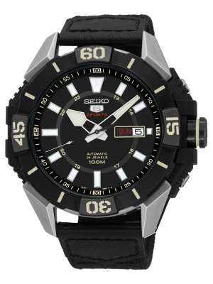 Seiko | Seiko 5 Sports Black L (Gents)
