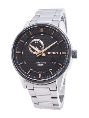 Seiko | Automatic Black & Rose (Gents)