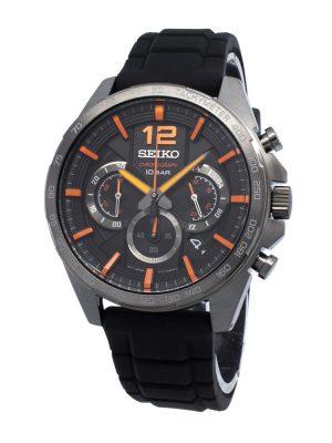 Seiko | Chronograph Black & Orange (Gents)