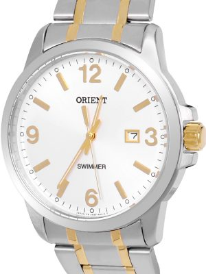 Orient | Quartz Contemporary Watch UNE5002W, Metal Strap - 41.0mm (Gents)