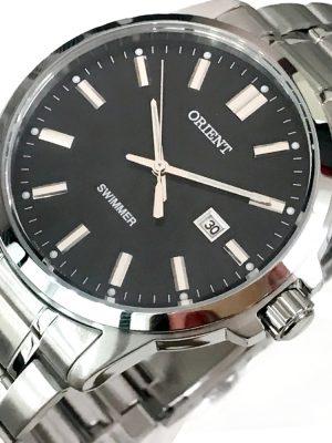 Orient | Quartz Contemporary Watch UNE5003B, Metal Strap - 41.0mm (Gents)