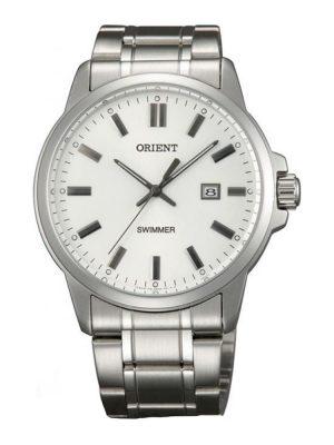 Orient | Quartz Contemporary Watch UNE5004W, Metal Strap - 41.0mm (Gents)