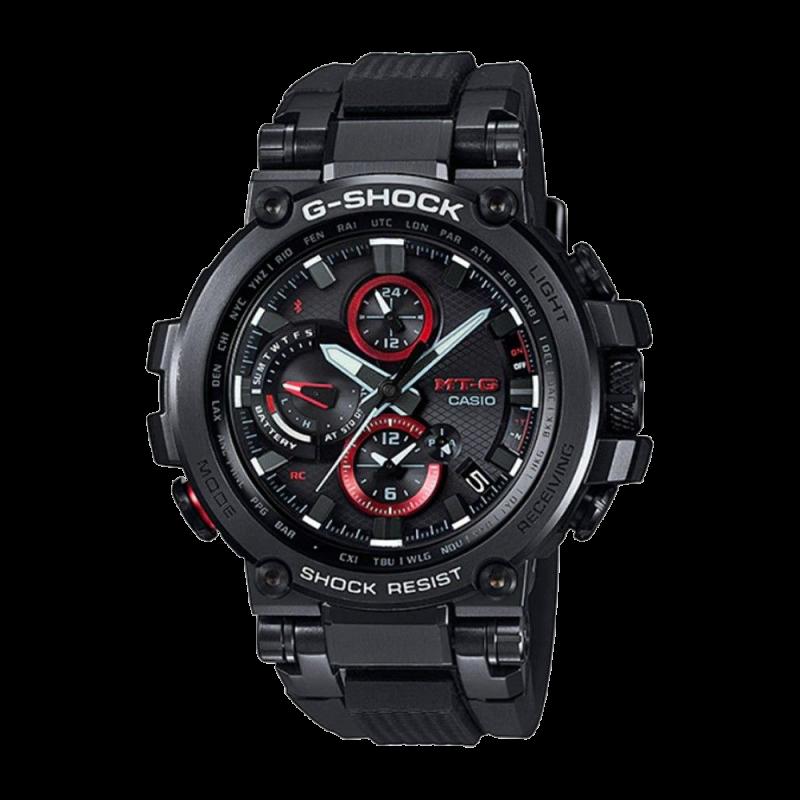 G-Shock | MT-G Pointer dual display Digital Watch MTG-B1000B-1A