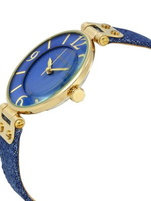 Anne KleinChelsea Quartz Ladies Watch with Analogue Display and Fabric Strap (10/9168BMDD)