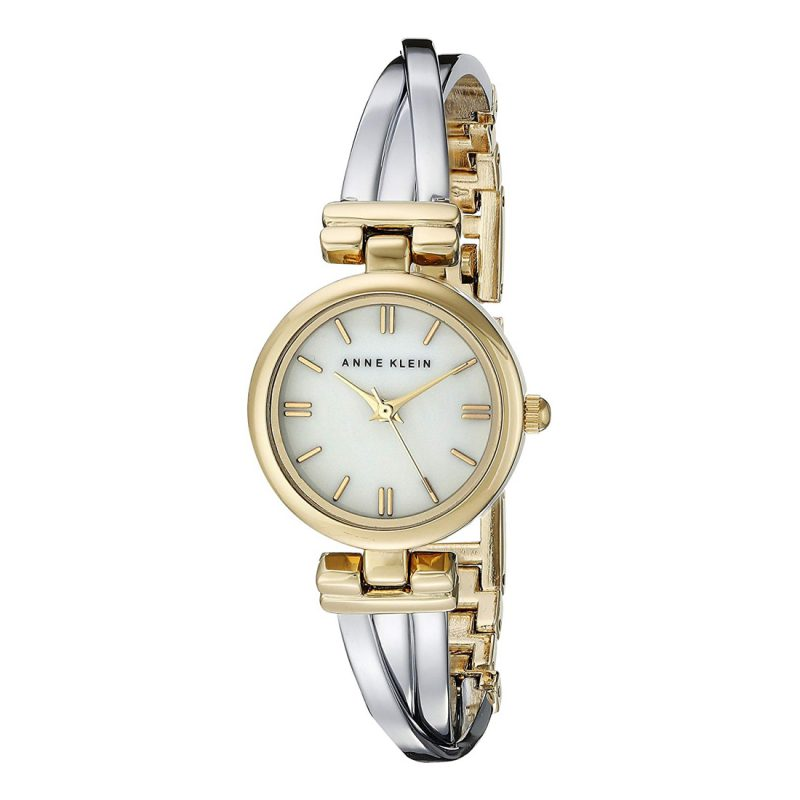 Anne Klein Two-Tone Bangle Ladies Watch (AK/1171MPTT)