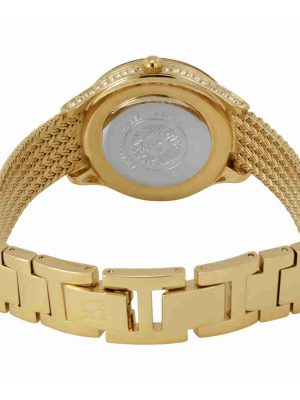 ANNE KLEIN Champagne Dial Ladies Watch (AK/2208CHGB)