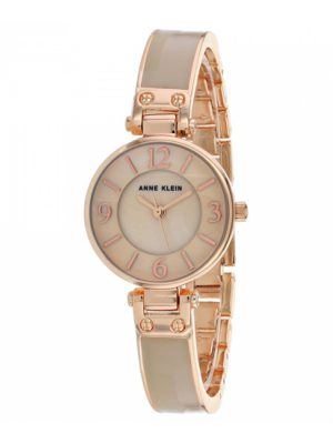Anne Klein Classic 26mm Steel Bracelet & Case Quartz Ladies Watch (AK/2912BHRG)