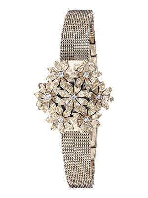 Anne Klein Swarovski crystal Ladies Watch (AK/3176GPCV)