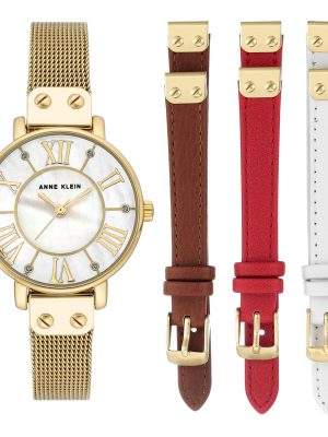 Anne Klein Luxury Ladies Watch (AK/3180GBST)