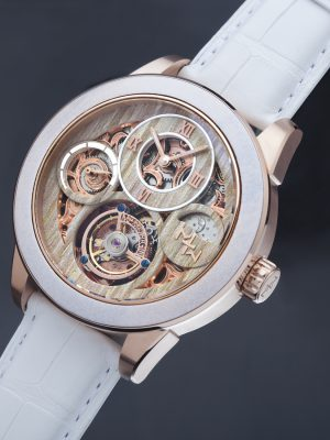 Memorigin | MTW Tourbillon (White)