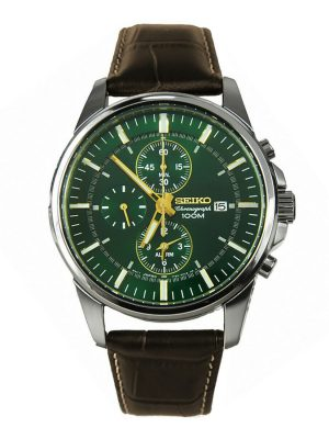 Seiko | Chronograph Alarm Dark Green (Gents)