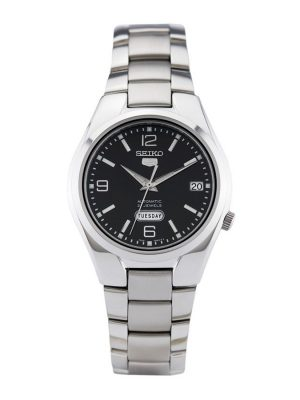 Seiko | Seiko 5 Black & Silver DM (Gents)