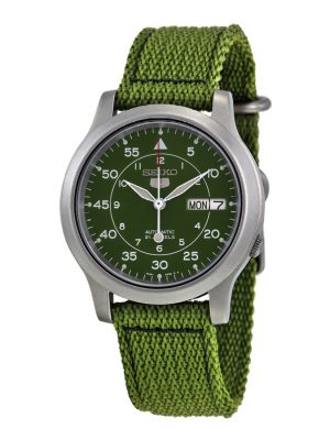 Seiko | Seiko 5 Canvas Green (Gents)
