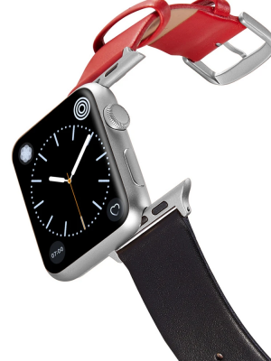 Happy Straps | 1+1 collection Candyapple - Apple Watch Leather Strap
