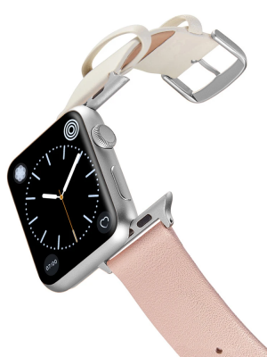 Happy Straps | 1+1 collection CottonCandy - Apple Watch Leather Strap