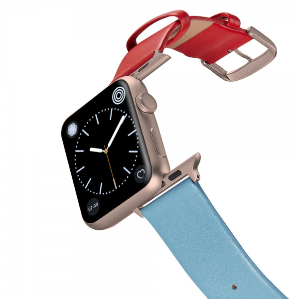 Happy Straps | 1+1 collection Gerbera - Apple Watch Leather Strap
