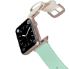 Happy Straps | 1+1 collection Pistacchio - Apple Watch Leather Strap