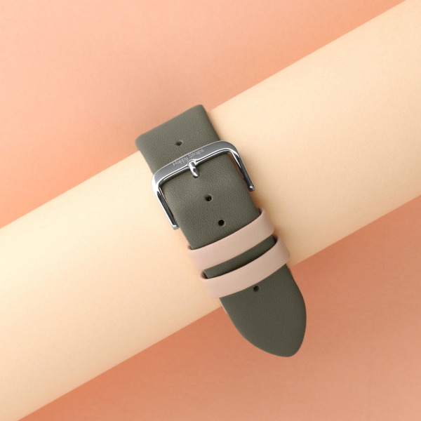 Happy Straps | 1+1 collection Rock - Apple Watch Leather Strap