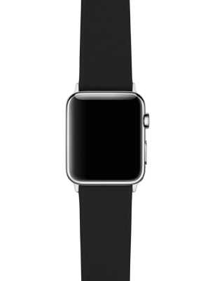 Happy Straps | 1x1 collection Black - Apple Watch Leather Strap