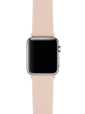 Happy Straps | 1x1 collection Blush Pink - Apple Watch Leather Strap