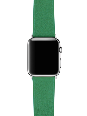 Happy Straps | 1x1 collection GreenRay - Apple Watch Leather Strap